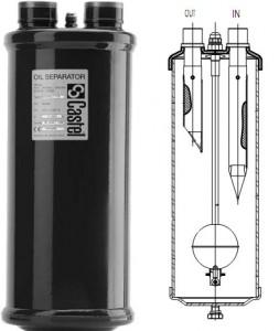 Separador de aceite refrigeracion
