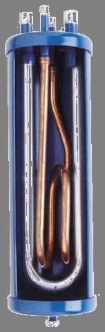 separador de líquido interior